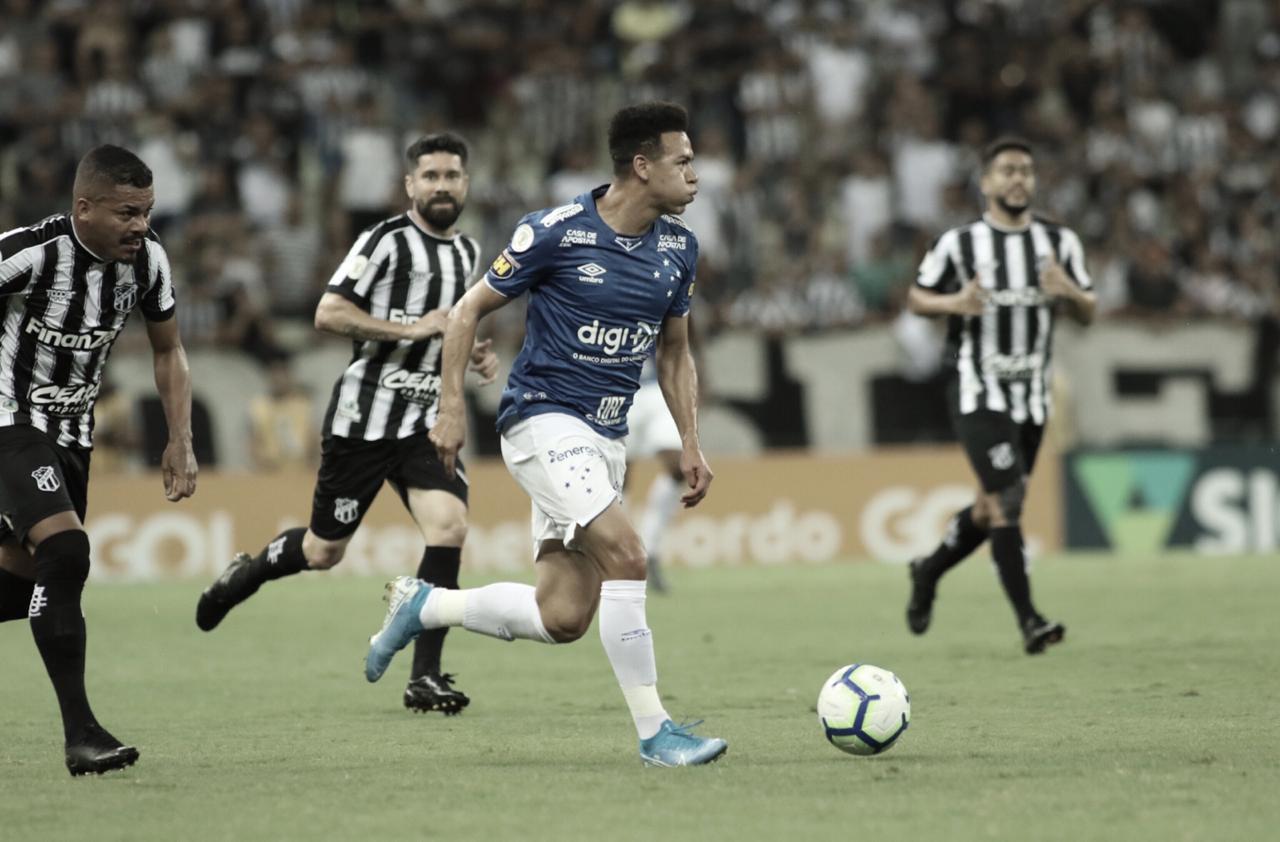 Ceará e Cruzeiro empatam sem gols em confronto direto contra o rebaixamento