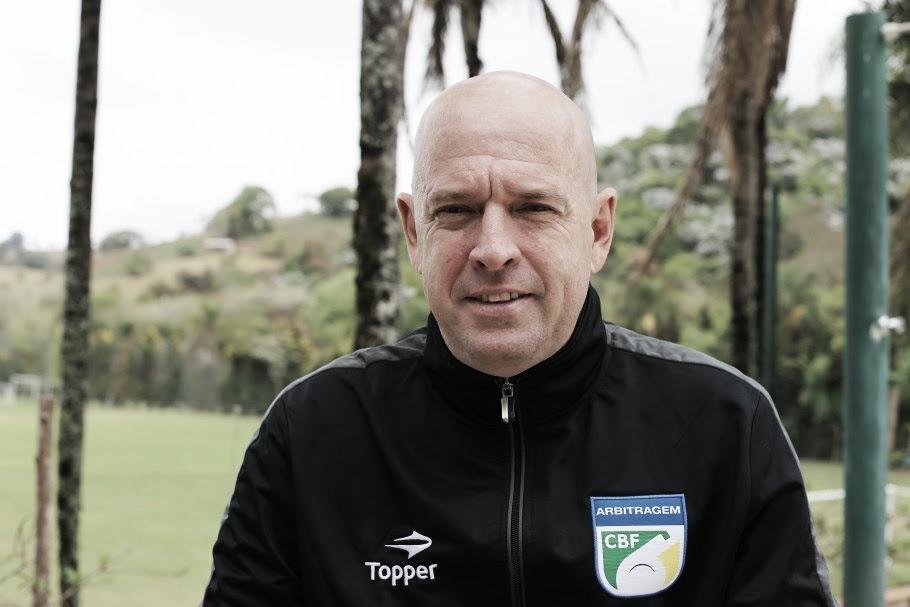 Heber Roberto Lopes apita primeira partida da decisão da Série C entre Náutico e Sampaio Corrêa