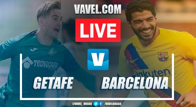 Gols e melhores momentos Getafe 0 x 2 Barcelona pelo Campeonato Espanhol 2019
