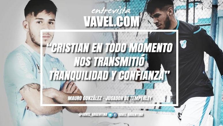 """Entrevista. Mauro González: """"La salida de Cristian Aldirico la tomamos para mal"""""""