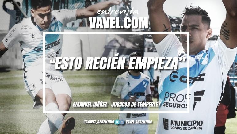 """Entrevista. Emanuel Ibañez: """"El domingo nos vamos a enfrentar a un rival duro"""""""