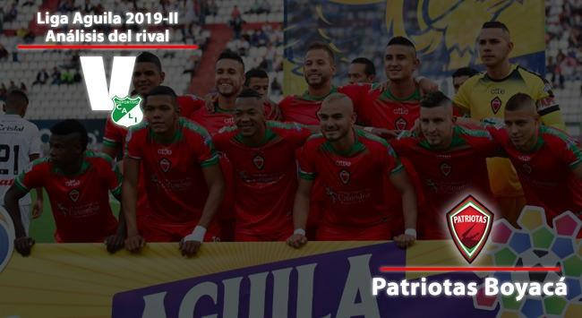 Deportivo Cali, análisis del rival: Patriotas de Boyacá