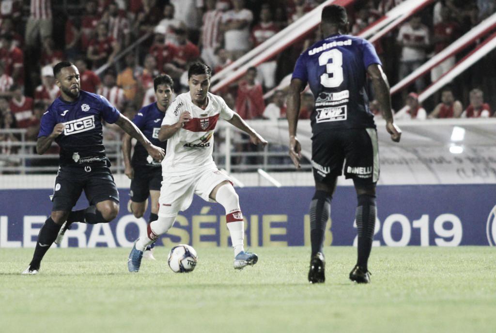 Tudo na mesma: empate entre CRB e São Bento deixam ambos parados na tabela