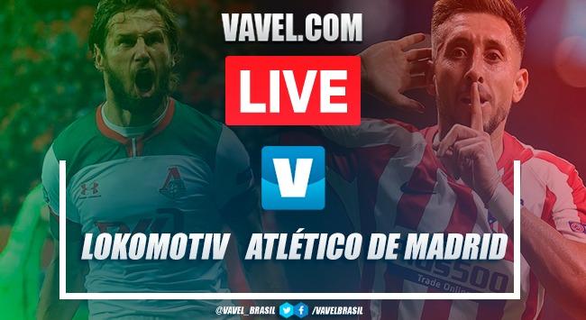 Resultado de Lokomotiv Moscou x Atlético de Madrid pela Uefa Champions League 2019-20 (0-2)