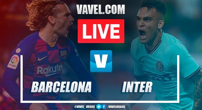 Melhores Momentos de Barcelona x Inter de Milão hoje pela UEFA Champions League (2-1)