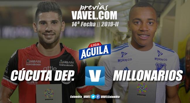 Previa Cúcuta Deportivo Vs. Millonarios: duelo de equipos que viven realidades diferentes