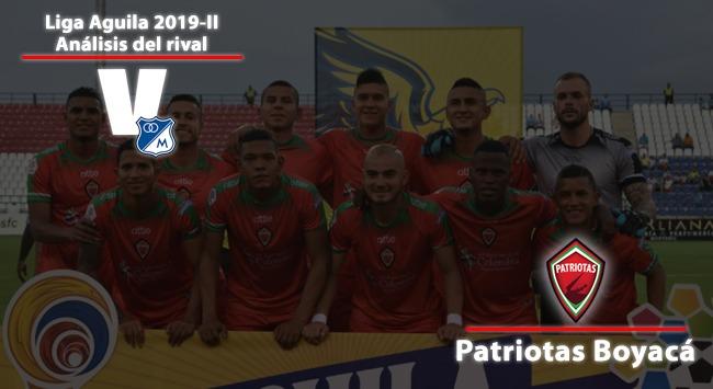 Millonarios, análisis del rival: Patriotas Fútbol Club