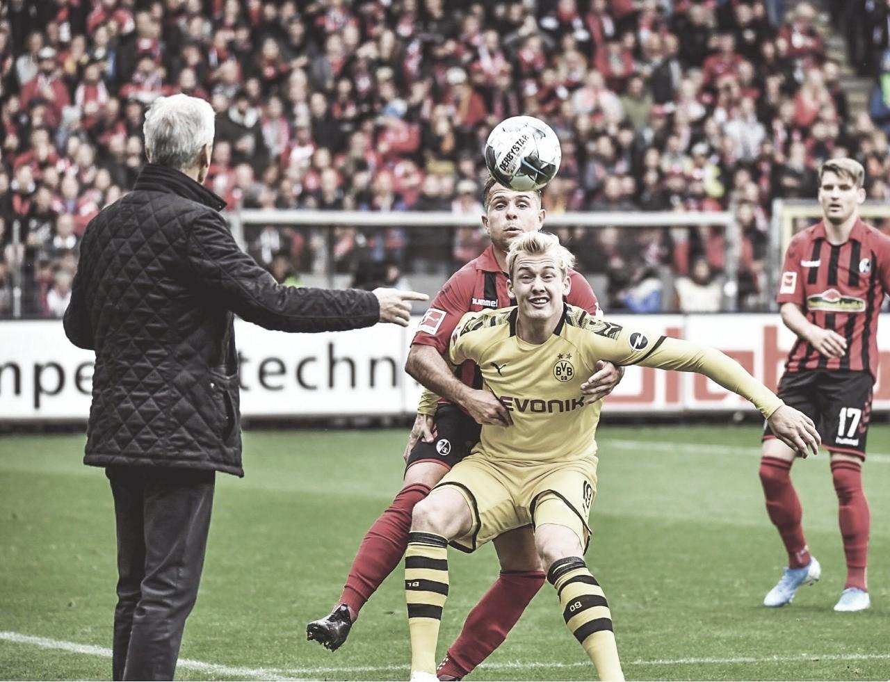 Witsel faz golaço, mas Borussia Dortmund fica no empate com Freiburg pela Bundesliga