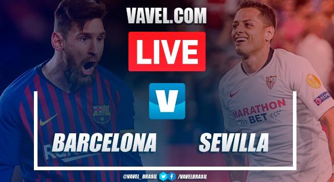 Gols e melhores momentos Barcelona 4 x 0 Sevilla pelo Campeonato Espanhol 2019