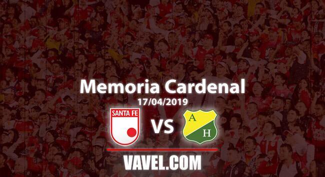 Memoria 'cardenal': Santa Fe volvió a rugir frente al Huila