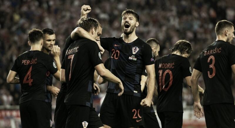 Croácia joga bem e vence Hungria pelas Eliminatórias da Euro