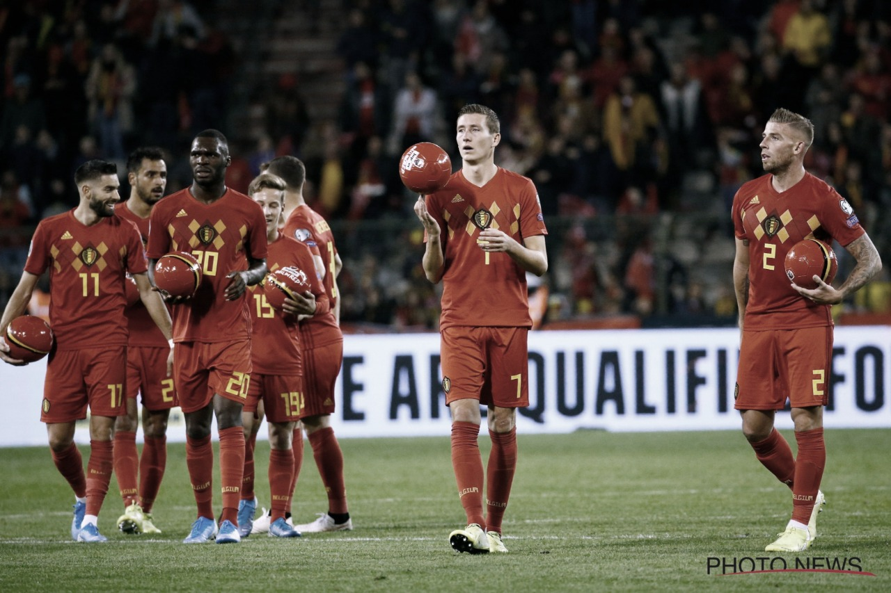 Em goleada protocolar, Bélgica atropela San Marino e garante vaga na Euro 2020