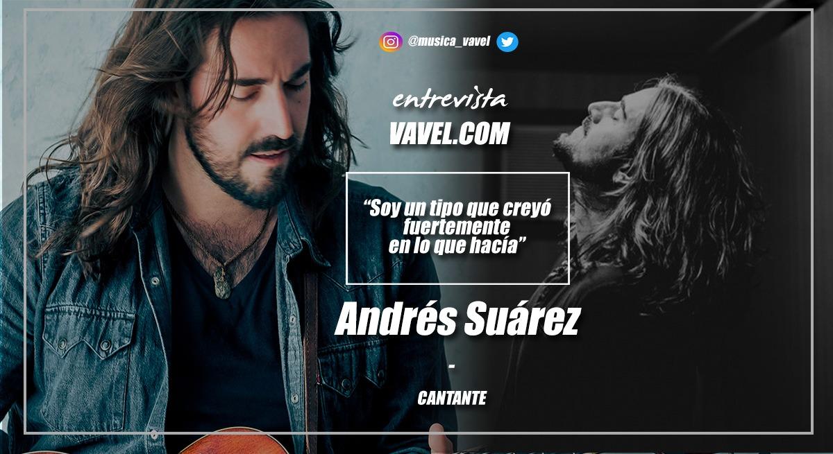 """Entrevista. Andrés Suárez: """"Soy un tipo que creyó fuertemente en lo que hacía"""""""