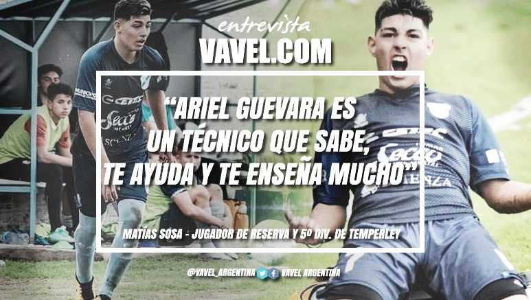 """Entrevista. Matías Sosa: """"Fue un resultado muy positivo en lo general, porque se dio el 100% de cada jugador"""""""