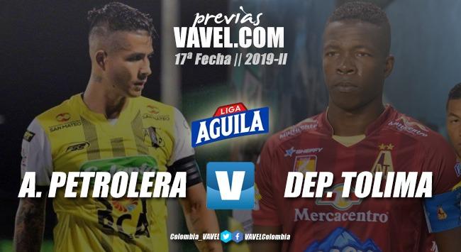 Previa Alianza Petrolera vs. Deportes Tolima: un duelo de dos equipos que juegan bien al fútbol