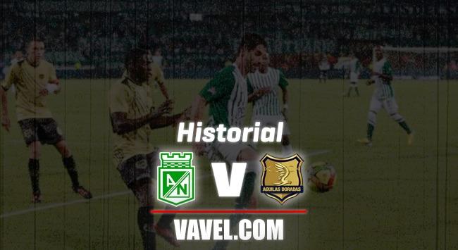 Historial Rionegro Águilas vs. Atlético Nacional: números favorables para el 'verde'
