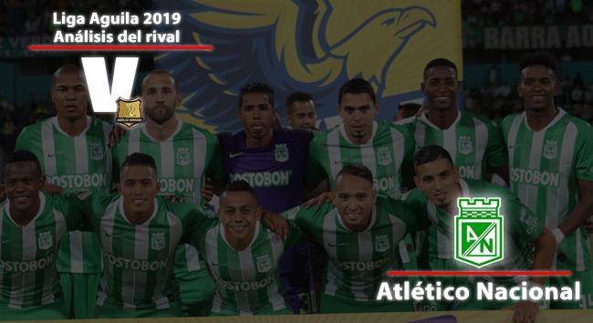 Rionegro Águilas, análisis del rival: Atlético Nacional