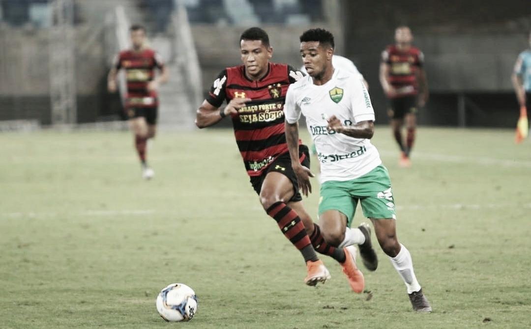 Em momentos opostos, Sport e Cuiabá se enfrentam na Ilha do Retiro