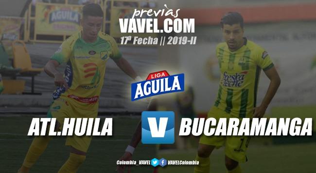 Previa Atlético Huila vs. Atlético Bucaramanga: tres puntos para alejarse del descenso