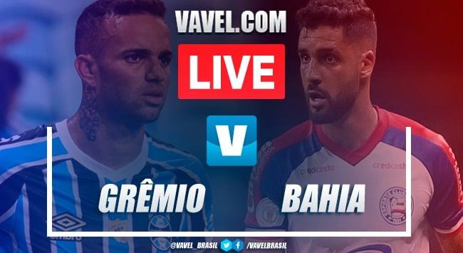 Grêmio x Bahia AO VIVO hoje (0-0)
