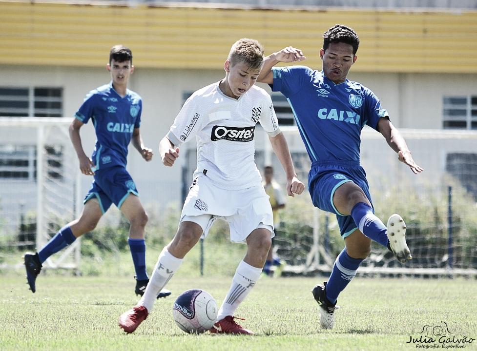 Meia do Figueirense destaca concentração para jogo de volta no Catarinense Sub-17