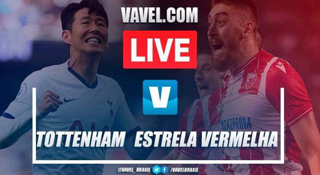 Gols e melhores momentos de Tottenham 5x0 Estrela Vermelha pela Champions League