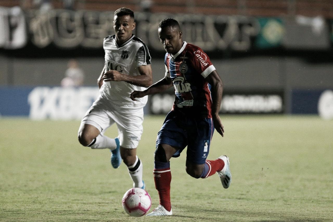 Luiz Otávio brilha, Ceará derrota Bahia e deixa zona de rebaixamento
