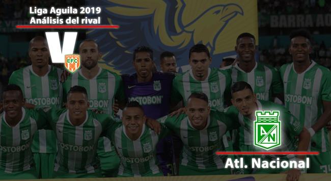 Envigado FC, análisis del rival: Atlético Nacional