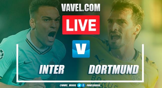 Gols e melhores momentos Inter de Milão 2 x 0 Borussia Dortmund pela Champions League 2019-20