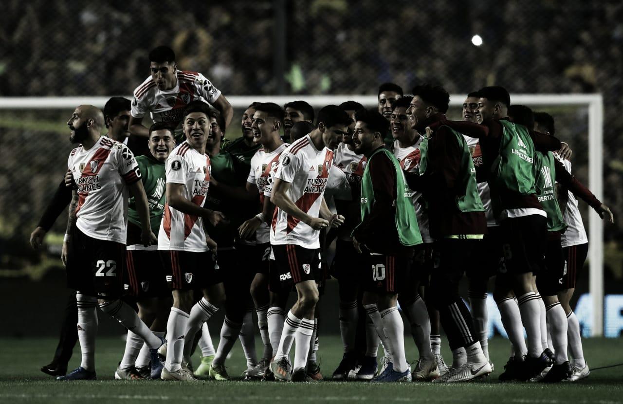 River perde para o Boca, mas vai à final da Libertadores