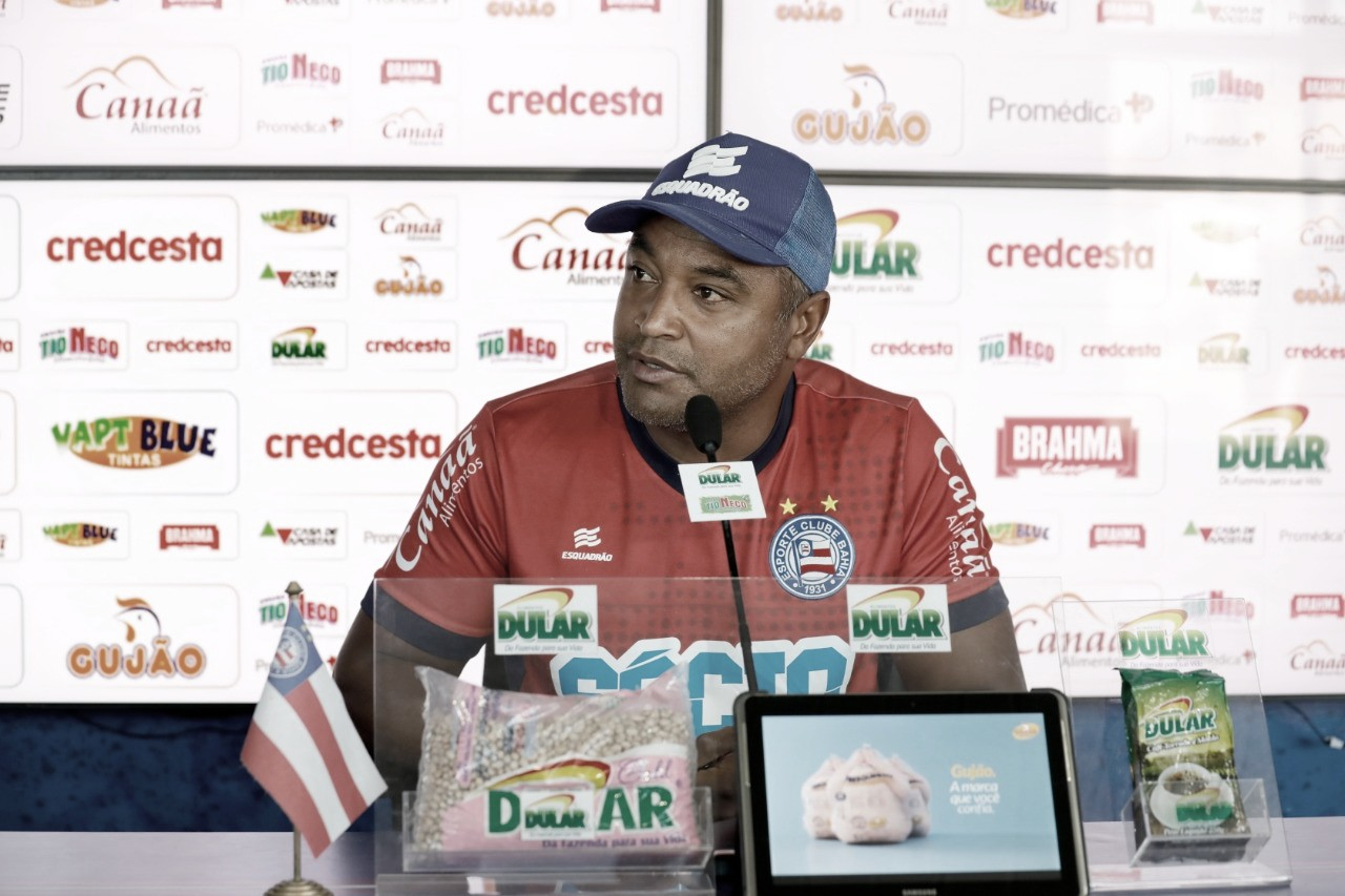 Roger Machado valoriza atuação do Bahia e exalta triunfo sobre o Nacional-PAR na Sul-Americana