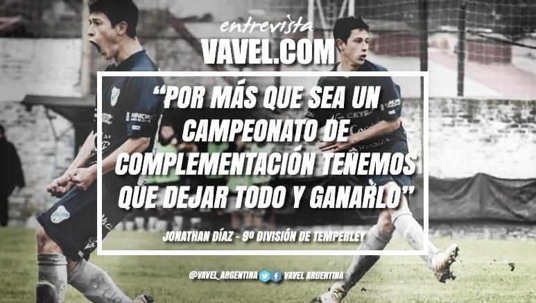 """Entrevista. Jonathan Díaz: """"Estamos todos concentrados para ganar este torneo"""""""