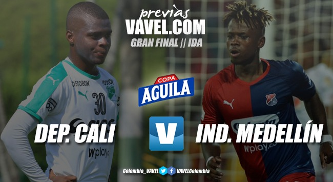 Previa Deportivo Cali vs Independiente Medellín: la primera batalla por la copa