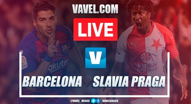 Melhores momentos Barcelona 0 x 0 Slavia Praga pela Champions League 2019