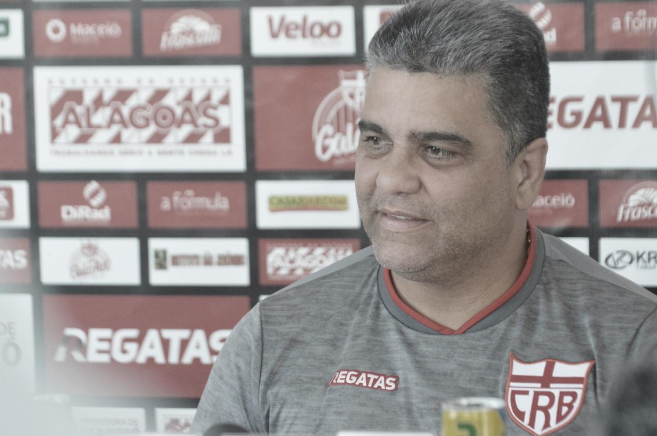Títulos e acesso: Marcelo Cabo estabelece metas do CRB para temporada 2020