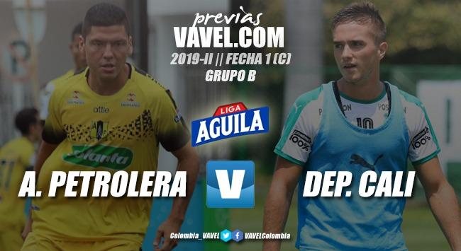 Previa Alianza Petrolera vs. Deportivo Cali: los dos equipos quieren comenzar con pie derecho en los cuadrangulares