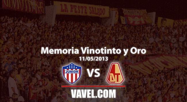 Memoria 'vinotinto y oro': La última vez que Tolima ganó en Barranquilla por liga