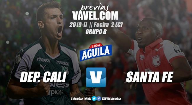 Previa Deportivo Cali vs. Independiente Santa Fe: segunda batalla de cara a la final - VAVEL.com