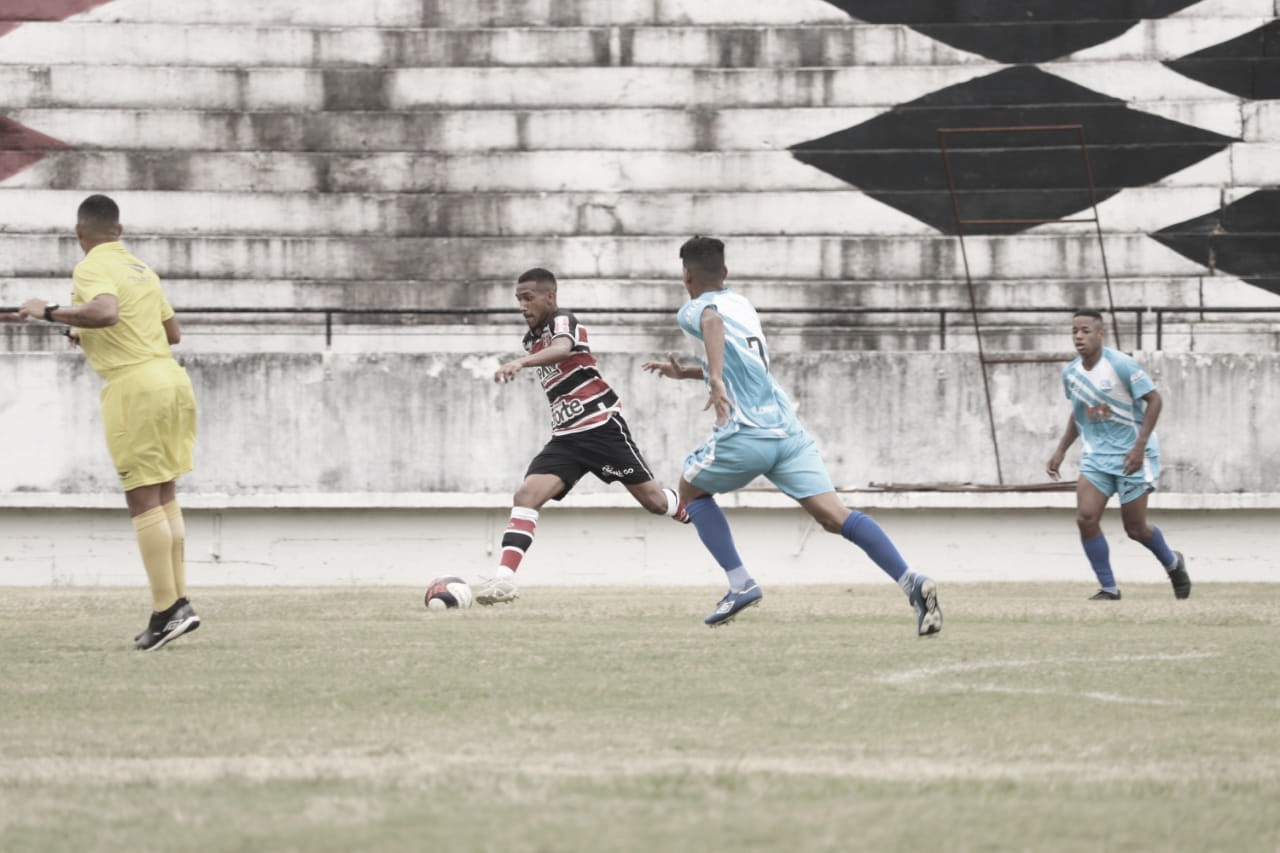Keven se destaca em goleada aplicada pelo Santa Cruz na Copa do Nordeste