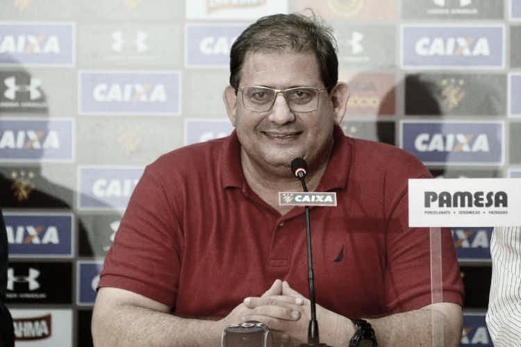 """Após acesso do Sport, Guto Ferreira dispara: """"Não é qualquer coisa que vai me tirar daqui"""""""