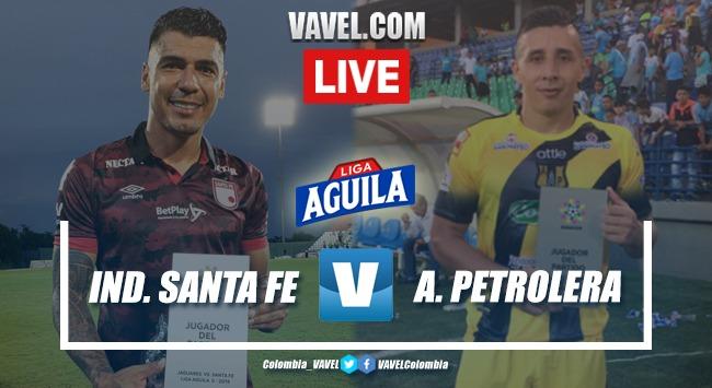 Resumen Independiente Santa Fe vs. Alianza Petrolera por la Liga Aguila (1-0)