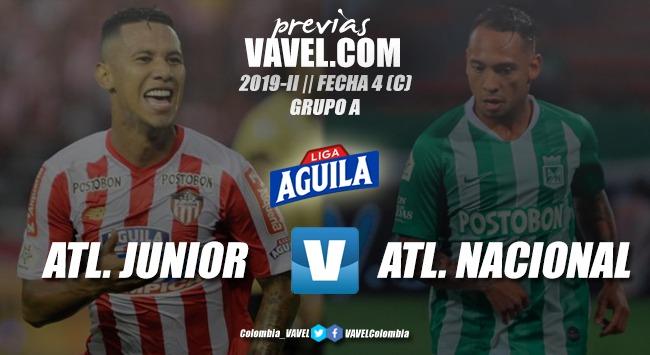 Previa Junior de Barranquilla vs. Atlético Nacional: duelo de necesitados
