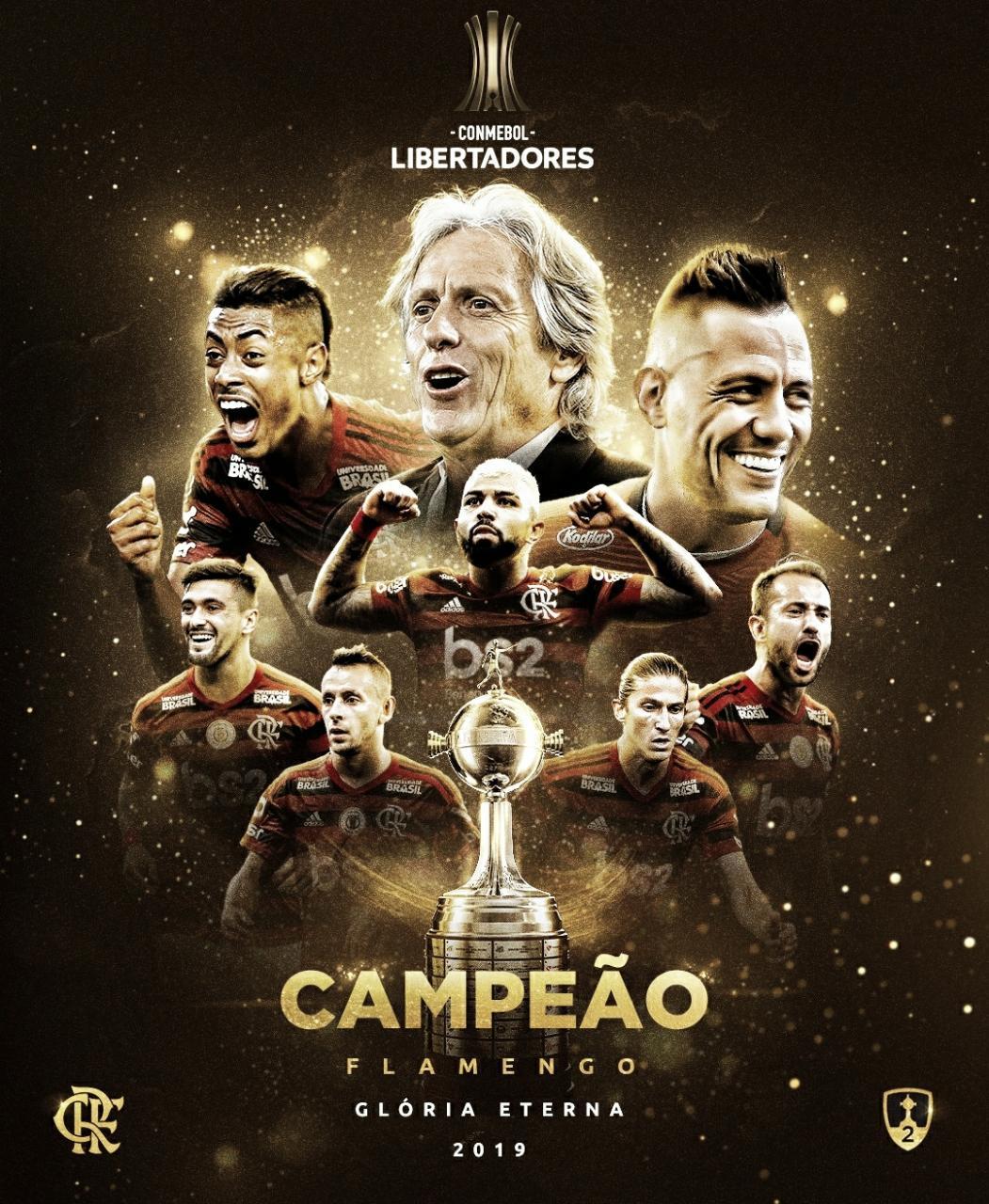 Emocionante: de virada, Flamengo vence River Plate e conquista Libertadores da América