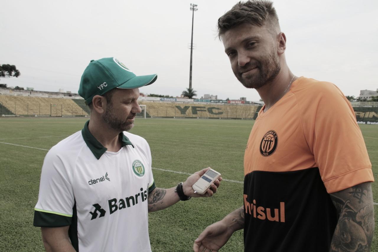 Neuton quer evolução do Ypiranga na temporada e almeja bom desempenho no Gauchão