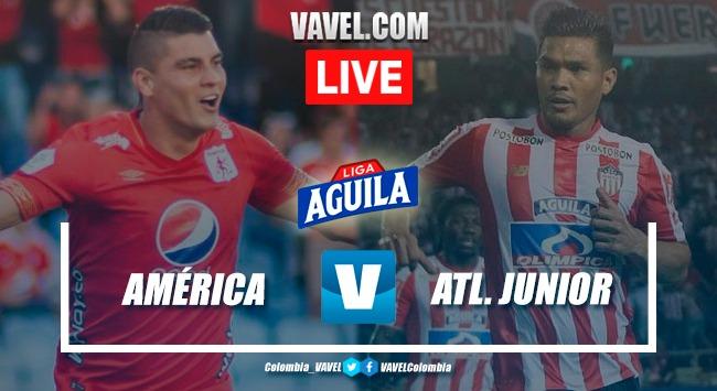 Resumen América de Cali vs. Junior de Barranquilla (2-0)