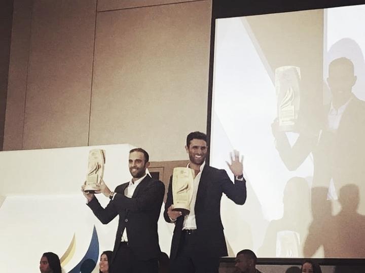 El tenis colombiano fue premiado en la gala de 'El Espectador'