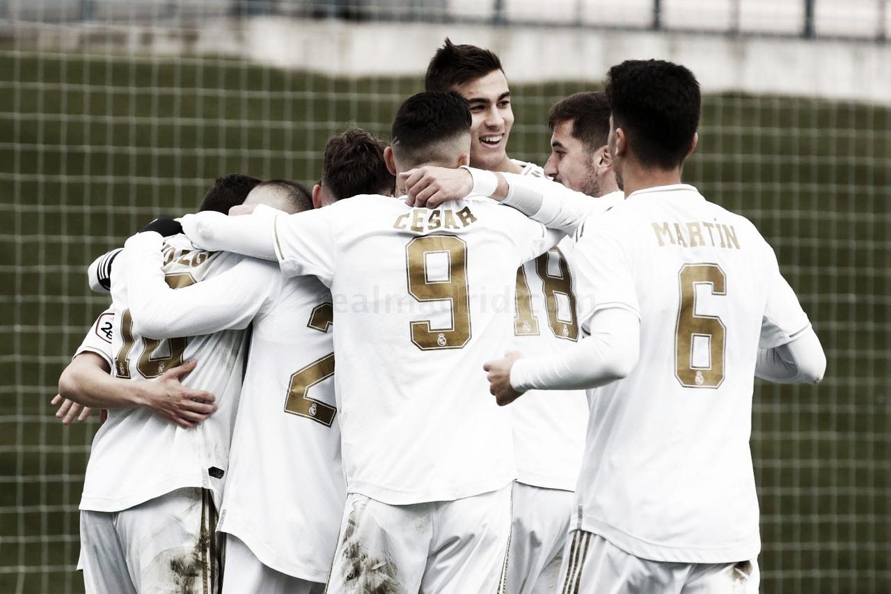 El Castilla cierra el año en casa con victoria ante el Getafe B
