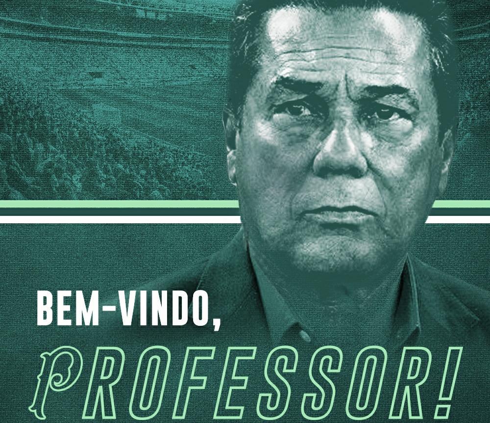 Vanderlei Luxemburgo é anunciado como novo técnico do Palmeiras