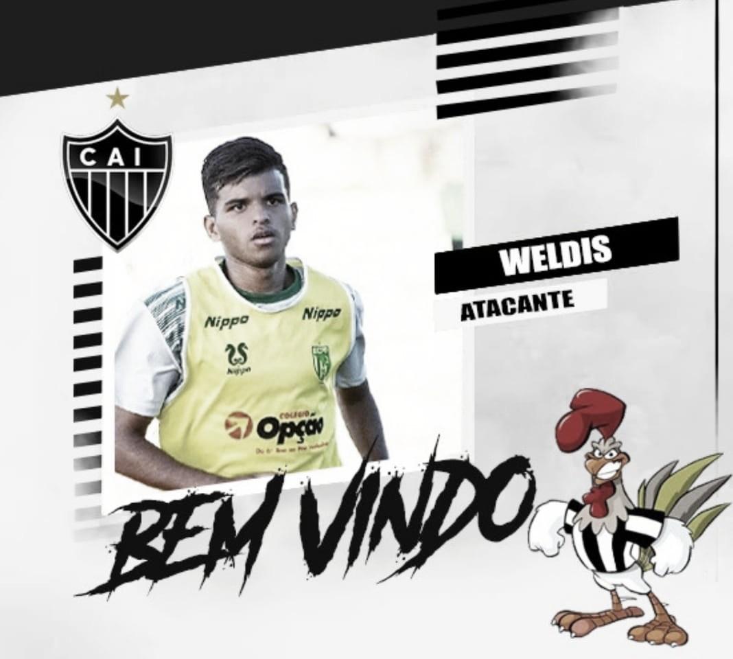Vice-Campeão da Copa Verde em 2018, Atlético-ES fecha com Jovem Weldis de 22 anos
