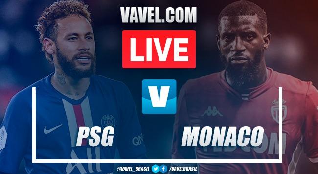 Gols e melhores momentos de Paris Saint-Germain x Monaco na Ligue 1 2019-20 (3-3)